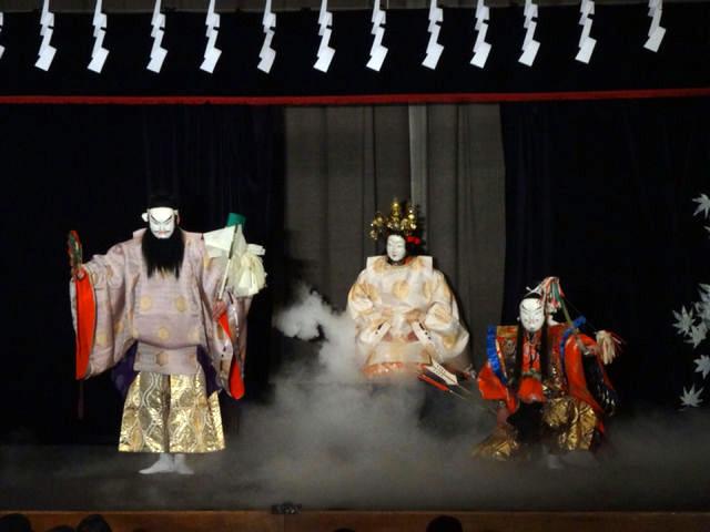 谷住郷神楽社中 日本武尊