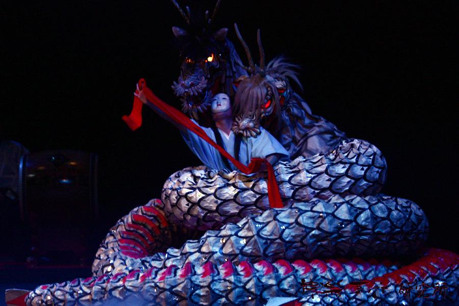 筏津神楽団 八岐大蛇