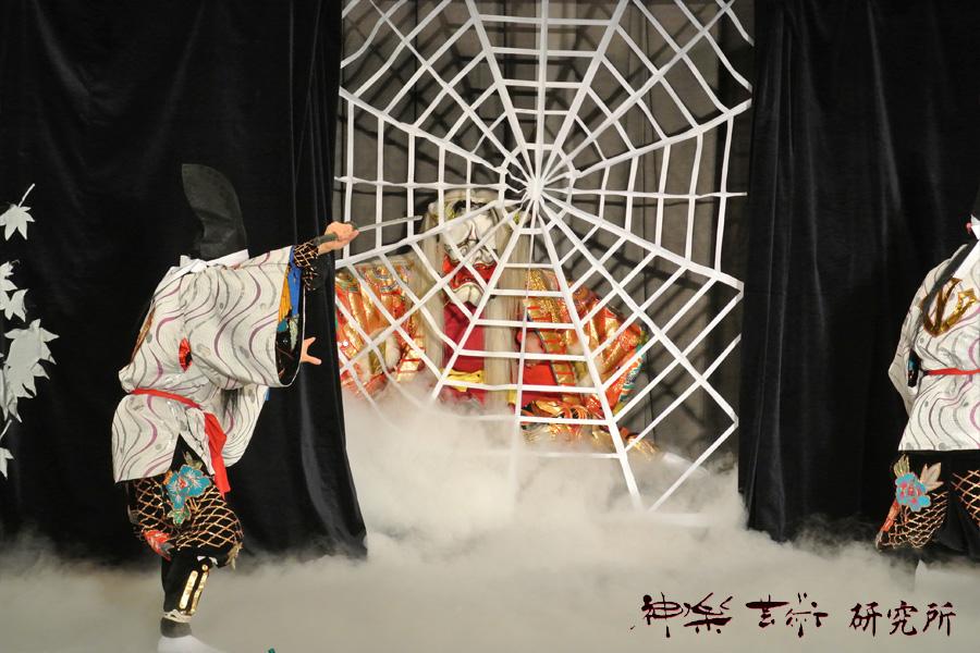 中川戸神楽団 土蜘蛛