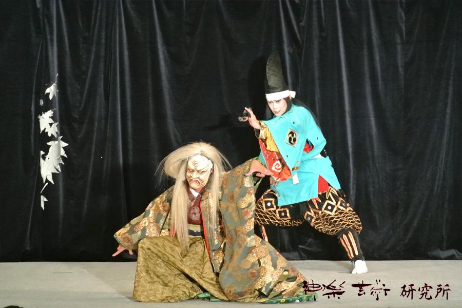 琴庄神楽団 羅生門