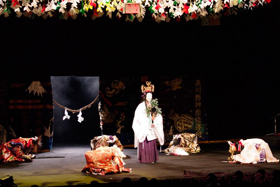 西村神楽社中 天の岩戸
