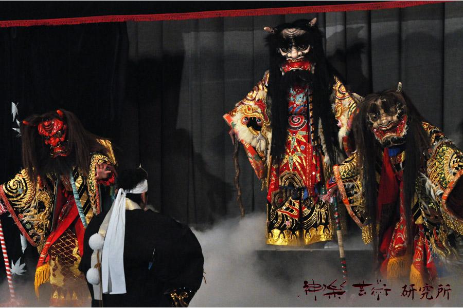 津浪神楽団 大江山